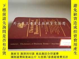 二手書博民逛書店Dictionary罕見of Business Terms(third edition)Y16719 Jack