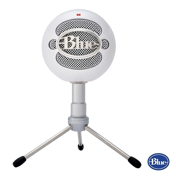 美國BLUE Snowball iCE小雪球USB麥克風【 亮白色】★Skype認證★復古時尚★隨插即用★官網註冊2年保固