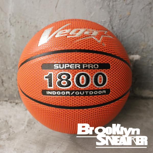 VEGA PU 菱格紋合成皮 銀色LOGO 7號球 室內/室外 籃球 (布魯克林) OBU1800V