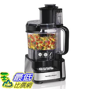 [107美國直購] 切菜機食物調理機 Hamilton Beach 12-Cup Stack and Snap Food Processor (70725A)