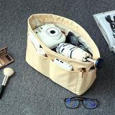 618大促防盜包中包收納包大容量袋中袋內膽包便攜簡約手提整理包化妝包袋