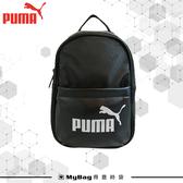 PUMA 後背包 黑色 運動後背包 大學包 隨身小背包 077170 得意時袋