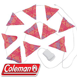【Coleman 美國 22285 LED串燈 粉紅】CM-22289/露營燈/電子燈/燈飾/小吊燈