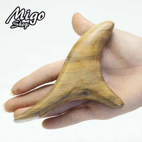 【三叉實木點穴器】越南香木按摩器香木三角雀手工