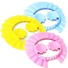 梅花護耳可調節寶寶洗髮帽 兒童洗頭帽 兒童洗澡帽