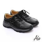 A.S.O 新一代奈米氣墊鞋 全真皮沖孔...