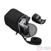 佳能EOSM50M2M3M5 M6 M10M100微單相機包15-45 18-55mm單肩保護套