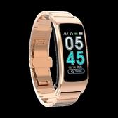 彩屏智慧手環藍芽耳機二合一分離式可通話監測多功能接打電話運動手錶
