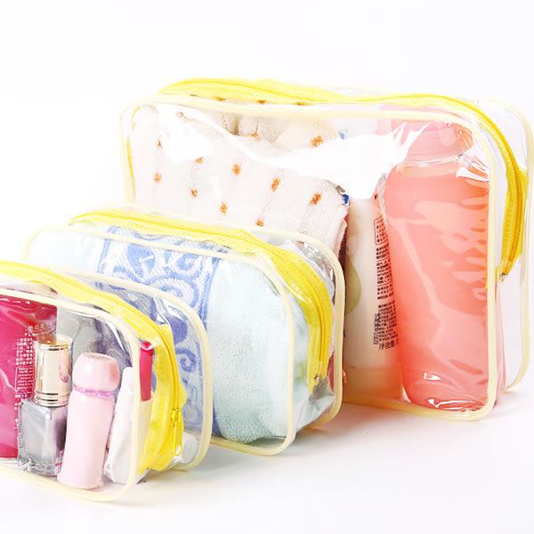 化妝袋 日系防水大容量收納袋(21x14x7) 毛巾旅行文件袋 洗漱 3C電線【ZDZ004】123ok