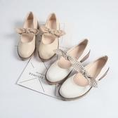 日系洛麗塔軟妹單鞋女春新款蝴蝶結奶奶小皮鞋粗跟仙女鞋夏 瑪麗蘇