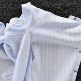 嬰兒連體衣夏款純棉超薄短袖哈衣爬行衣服男女寶寶短袖爬服0-2歲 易貨居