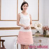 【RED HOUSE-蕾赫斯】無袖蕾絲蛋糕裙洋裝(共二色)