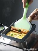 玉子燒鍋半房日式玉子燒煎鍋麥飯石不沾平底鍋硅膠煎鏟煎蛋厚蛋燒多功能鍋榮耀 新品