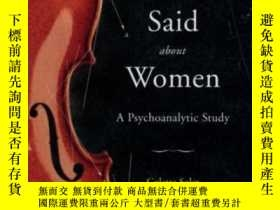 二手書博民逛書店What罕見Lacan Said About Women-拉康怎麽說女人的Y436638 Colette So