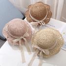 兒童帽 女寶寶帽子夏季遮陽漁夫帽草帽1-2歲兒童帽子公主帽3女童盆帽4潮 晶彩生活