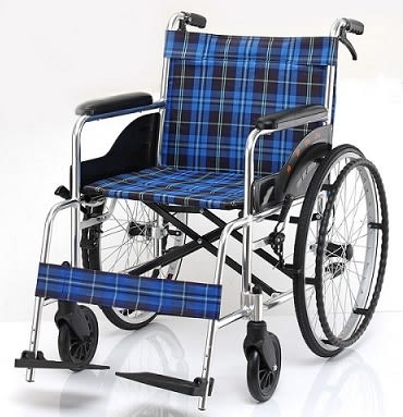 均佳 鋁合金輪椅經濟型 JW-100F