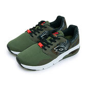 LIKA夢 LOTTO 時尚街頭潮流慢跑鞋 叢林迷彩系列 Jungle 軍綠黑 5125 男