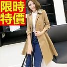 長版大衣-有型英倫風新品女外套3色62q...