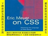 二手書博民逛書店Eric罕見Meyer On CssY255562 Eric Meyer New Riders Press