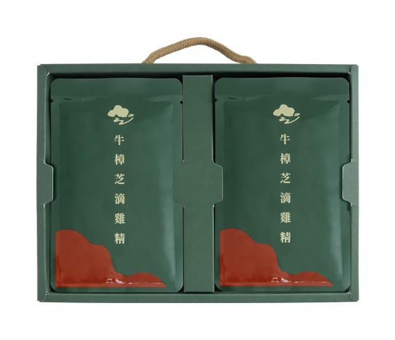 *新品上市* 牛樟芝滴雞精【雙乘加倍再升級】6包/盒