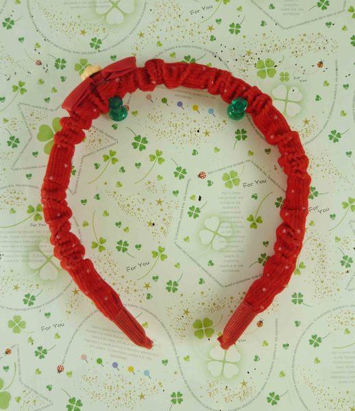 【震撼精品百貨】Micky Mouse_米奇/米妮 ~造型髮箍-紅米妮