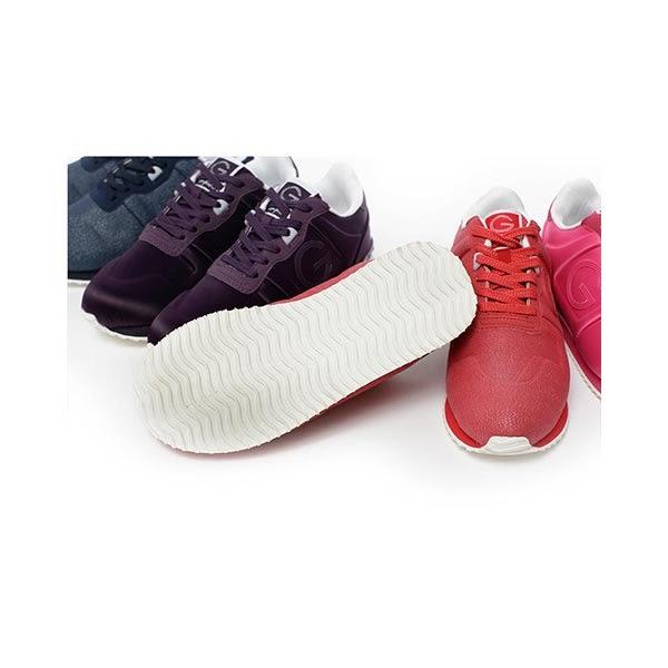 TOP GIRL亮麗女孩運動鞋-桃紅緞面