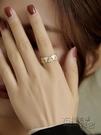 戒指 戒指女簡約冷淡風輕奢小眾設計高級精致對戒時尚裝飾個性女士戒子 衣櫥秘密