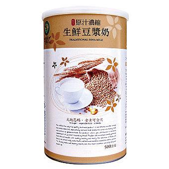 台灣綠源寶 原汁濃縮生鮮豆漿奶 500G 6罐