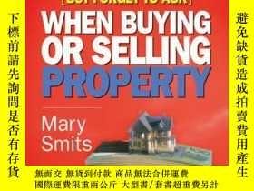 二手書博民逛書店Everything罕見You Need to Know (But Forget to Ask) When Buy