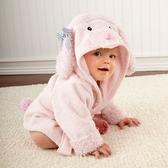 綿羊 小雞 .獅子.鯊魚 貓頭鷹 可愛動物造型浴巾 浴袍 浴衣橘魔法 Baby magic 現貨 沙灘 玩水 兒童