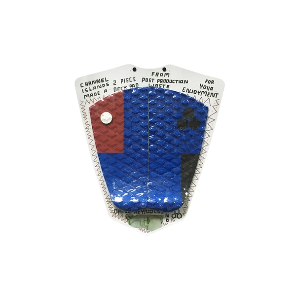 Channel Islands|衝浪配件 DANE RYNLDS PPR ASSORTED/1SZ FITALL 兩片式防滑墊 / 止滑墊 - (藍紅)
