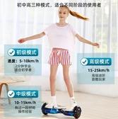 平衡車 智慧電動自平衡車兒童車代步小孩電動平行車成年學生8-12雙輪 城市部落