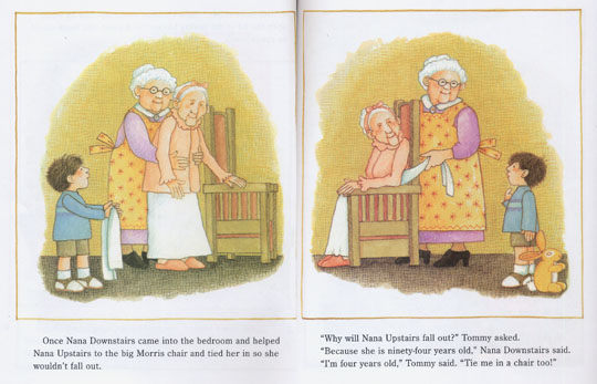 NANA UPSTAIRS & NANA DOWNSTAIRS 《樓上外婆樓下外婆》