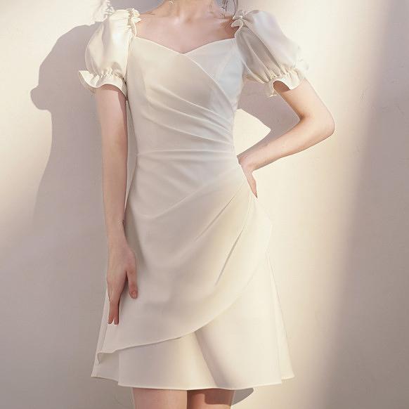 (45 Design) 洋裝禮服婚禮洋裝伴娘禮服洋裝小禮服中長禮服小洋裝蕾絲洋裝媽媽禮服14