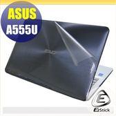 【Ezstick】ASUS A555U 燦坤機 專用 二代透氣機身保護貼(含上蓋、鍵盤週圍)DIY 包膜