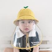 寶寶透明嬰兒防唾沫兒童防飛沫帽子可拆美西鴨舌帽防護帽 伊芙莎