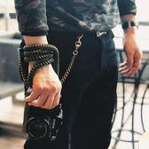 相機背帶 相機背帶粗繩手縫皮套款 復古手工編織富士索尼 酷動3C