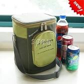 韓式飯盒手提包便當袋大號加厚鋁箔保溫袋圓形上班帶飯袋子飯桶包