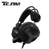 T.C.STAR TCE9030BK 頭戴式有線耳麥 黑