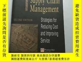 二手書博民逛書店Logistics罕見And Supply Chain Mana
