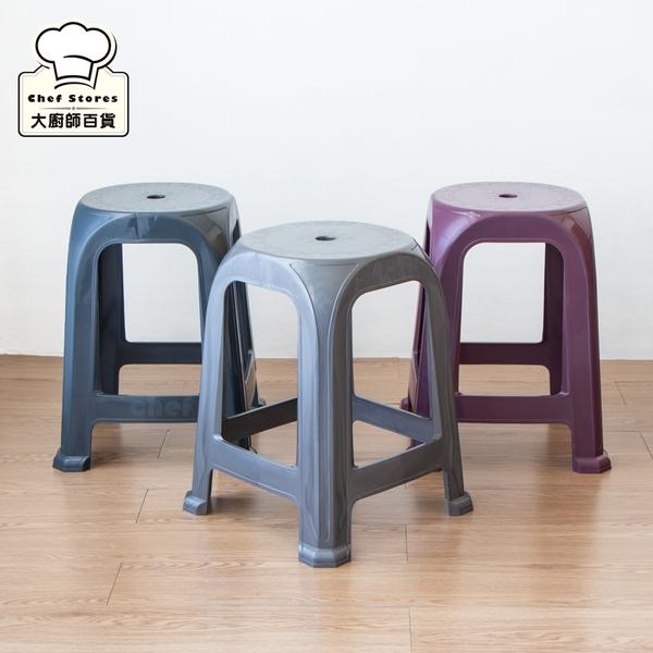聯府雅客備用椅塑膠椅47cm休閒椅戶外椅子RC6271-大廚師百貨