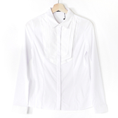 【MASTINA】燕子領設計襯衫-白 0331-4