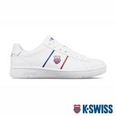 【超取】K-SWISS Court Vittora 時尚運動鞋-女-白/藍/紅
