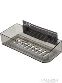 洗漱台浴室置物架壁掛收納架墻上免打孔塑料衛生間廁所洗手間架子-ifashion
