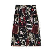 【免運】大碼女裝胖妹妹新品夏裝新款氣質顯瘦T恤刺繡網紗正韓半身裙兩件套裝