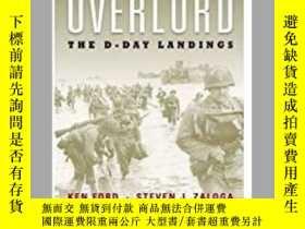 二手書博民逛書店Overlord罕見The D-Day Landings (damaged)-霸主登陸日登陸(損壞)Y4149