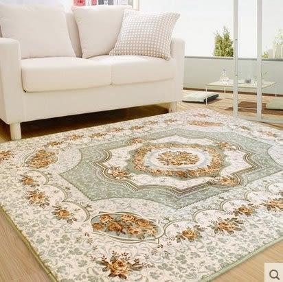 歐式簡約現代 臥室床邊滿鋪地毯 客廳茶几沙發大地毯【150cm×200cm】