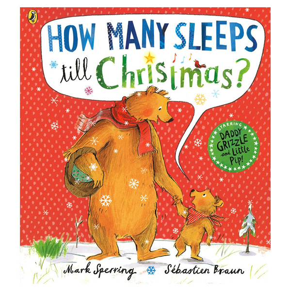 【麥克書店】How Many Sleeps To Christmas聖誕節節慶英文繪本