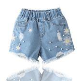 牛仔短褲10中大童兒童熱褲12百搭13歲薄款