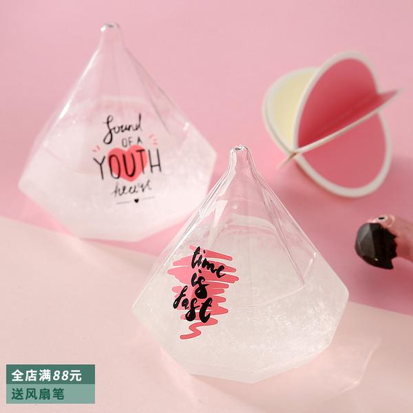天氣預報瓶風暴瓶創意送女生閨蜜女朋友節日禮物天氣瓶禮品 店慶降價
